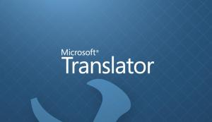Embedding Microsoft Translator